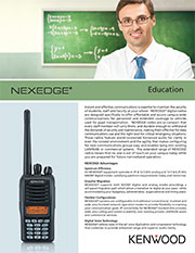 Kenwood Education Brochure