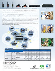Kenwood Manufacturing and Facilities Brochure