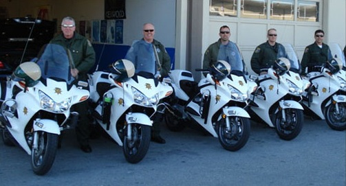 California Police Bike Retrofitting