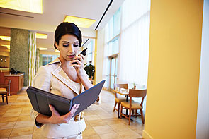 two-way radio for hotels